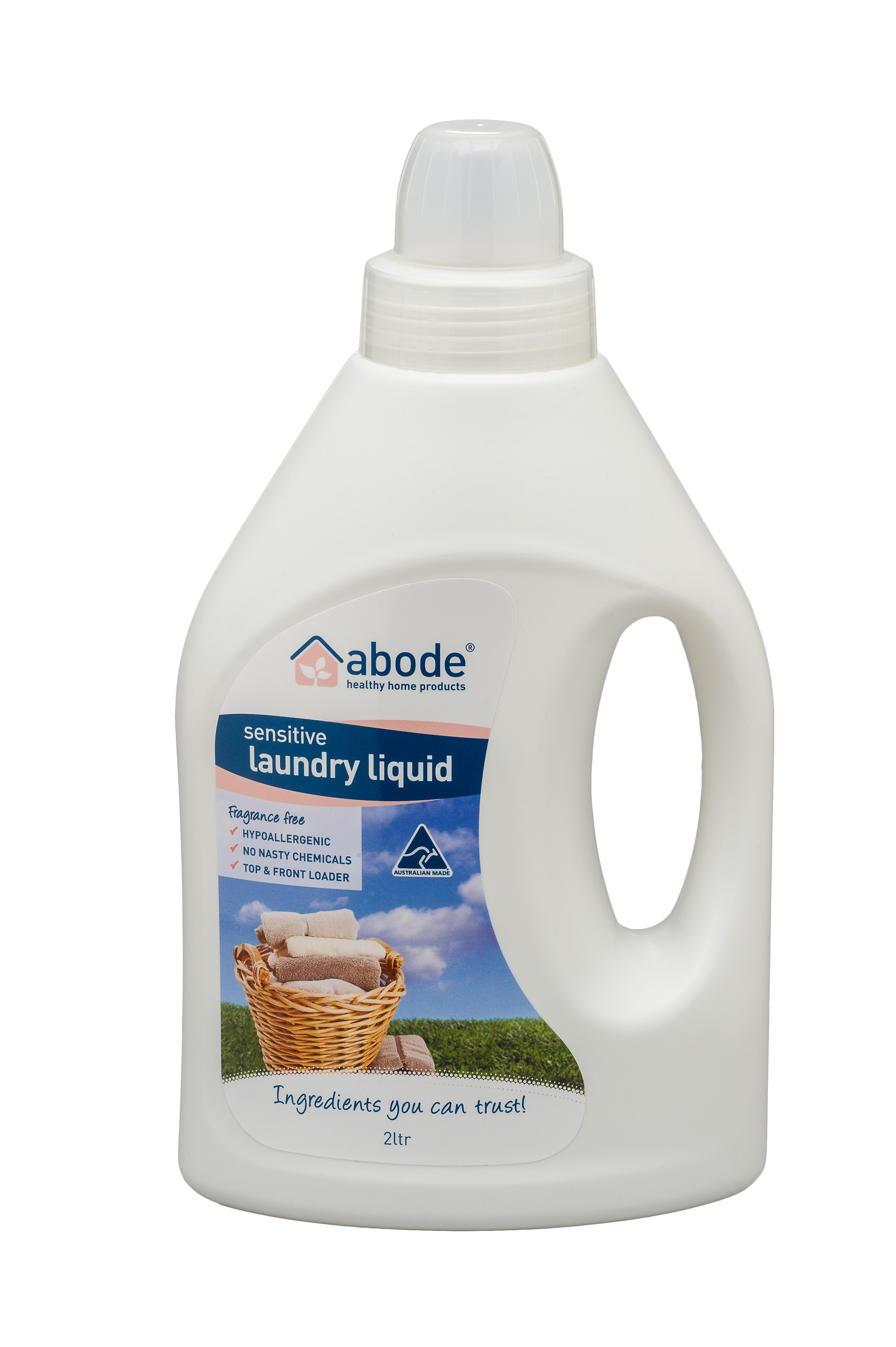 Abode Fragrance Free Laundry Liquid (2 litres)
