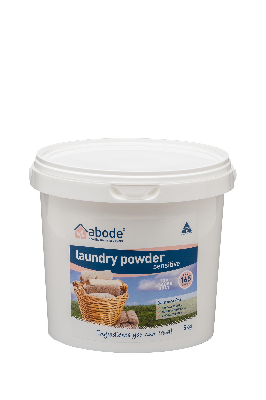 Abode Fragrance Free Top Loader Laundry Powder (5kg)