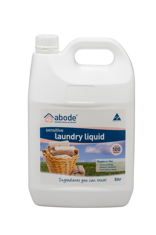 Abode Fragrance Free Laundry Liquid (5 litres)