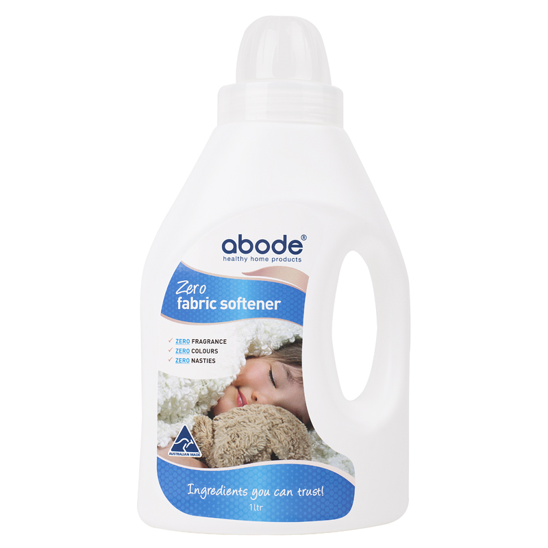 Abode Fabric Softener ZERO Fragrance Free (1 litre)