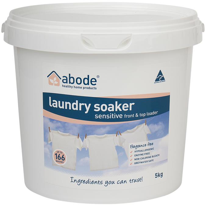 Abode Laundry Soaker Fragrance Free (5kg)