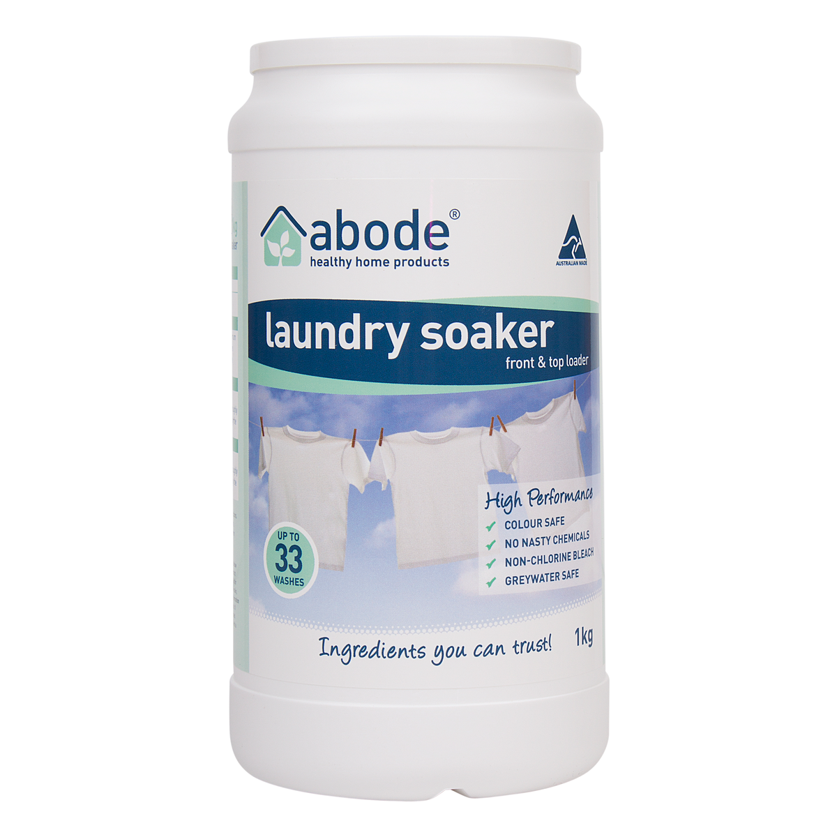 Abode Laundry Soaker High Performance (1kg)