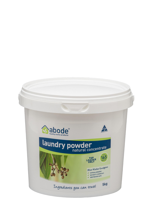 Abode Eucalyptus Front Loader  Laundry Powder (5kg)