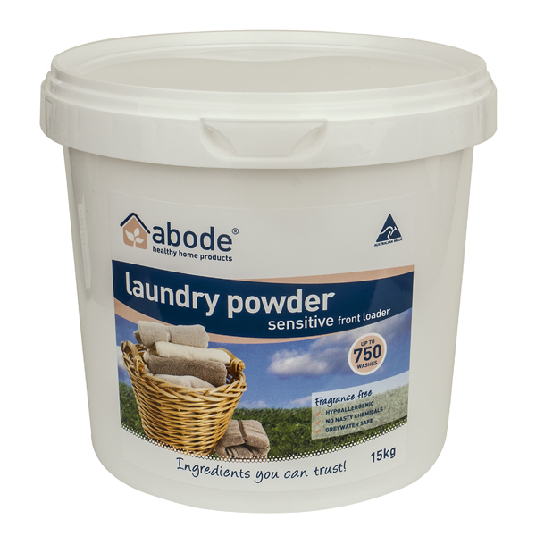 Abode Fragrance Free Front Loader Laundry Powder (5kg)