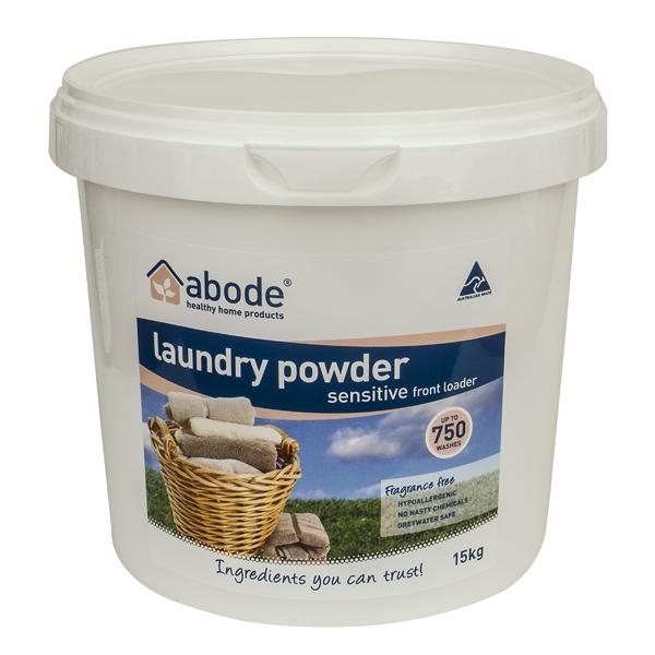 Abode Fragrance Free Front Loader Laundry Powder (5kg)