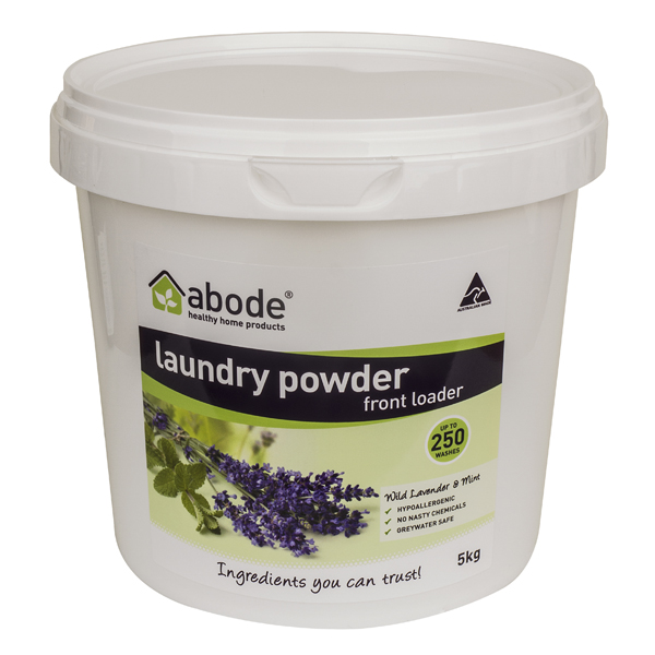 Abode Lavender & Mint Front Loader Laundry Powder (5kg)