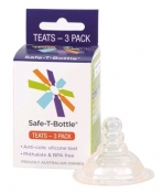 Safe-T-Bottle - Teats (3 Pack)